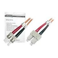 Digitus - Lwl - Patch-Kabel - St multi-mode M, bis Sc multi-mode M 2 m - Glasfaser