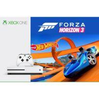 MICROSOFT - Pack Xbox One S 500Go Forza Horizon 3 + Hot Wheels