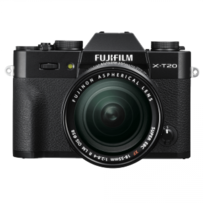 Fuji - Appareil photo hybride Fujifiilm X-T20 Noir