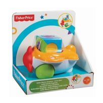 Fisher Price - Avion bloc / roller cube 6-36 mois - Jouet éveil Fisher-Price