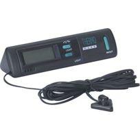 Adnauto - Thermometre interieur/exterieur + eclairage