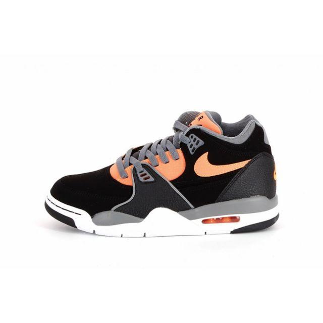 online store 7533b b782a Nike - Basket Air Flight 89 - 306252-009 Noir - pas cher Achat   Vente  Baskets homme - RueDuCommerce