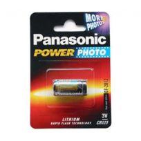 Panasonic - Pile lithium 3V, Cr123