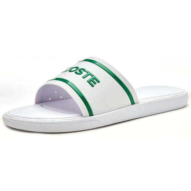0d5c620069 Lacoste - Sandale L 30 Slide - 735CAM0061082 - pas cher Achat / Vente  Sandales et tongs homme - RueDuCommerce