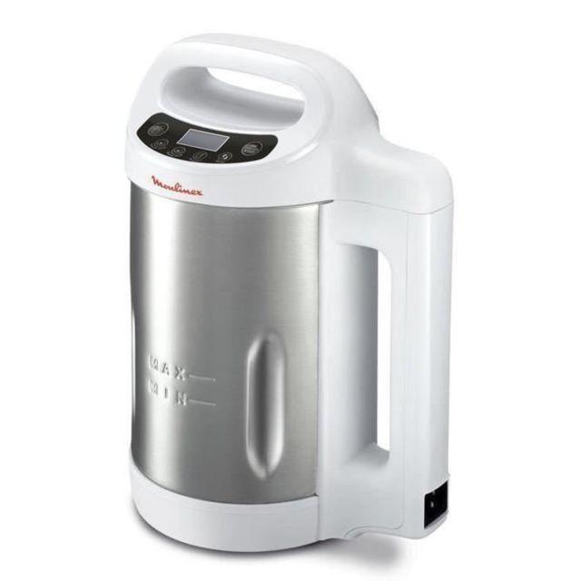 Moulinex - Blender chauffant My Daily Soup - Lm540110 - Blanc/Inox