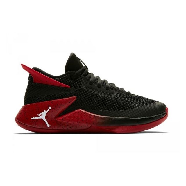 Chaussure de Basketball Fly Lockdown Noir Gym red pour Junior Pointure 38