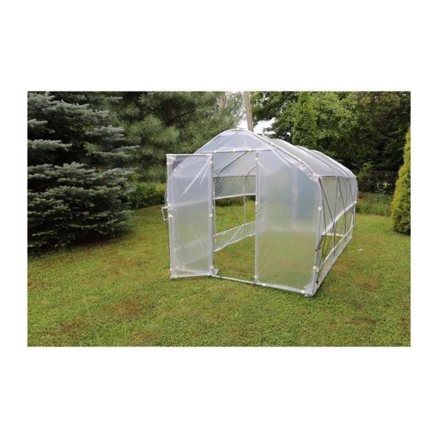 cross serre de jardin tunnel semi pro avec a ration 750x200x200cm pas cher achat vente. Black Bedroom Furniture Sets. Home Design Ideas