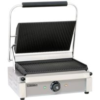 CASSELIN - grill panini plaques rainurées 2200w - cgprr