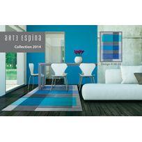 ARTE ESPINA - Tapis INTERSECTION bleu Tapis Moderne 120 x 180 cm bleu 120 x 180 cm