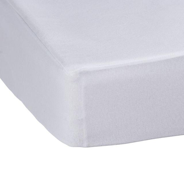 tex home al se molleton antiacarien blanc 140cm x 200cm pas cher achat vente draps. Black Bedroom Furniture Sets. Home Design Ideas