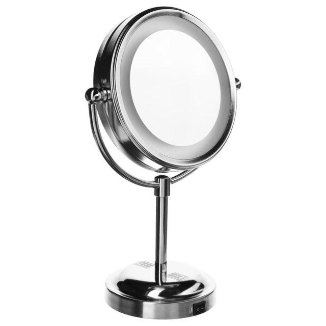 Beurer miroir cosmetique lumineux bs49 argente 58400 for Beurer miroir lumineux bs49