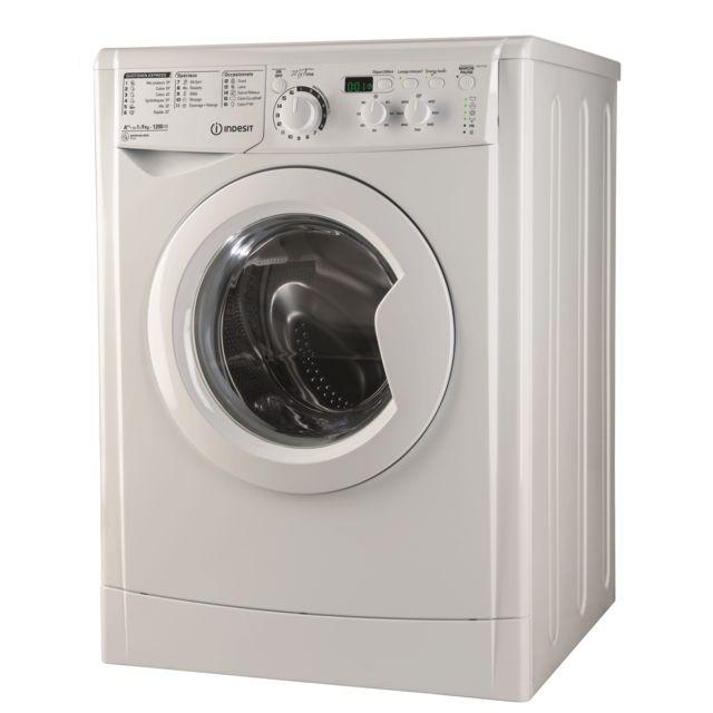 Indesit Lave-linge - EWD 91282 W FR - Blanc