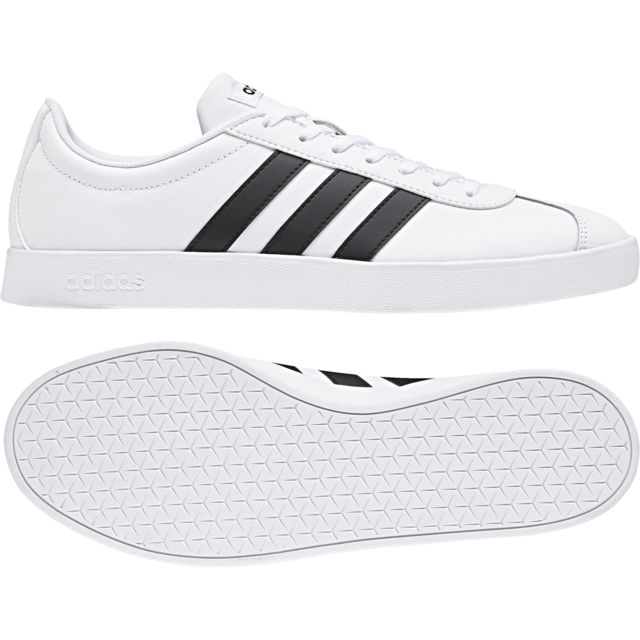 Adidas Chaussures Vl Court 2.0 pas cher Achat Vente