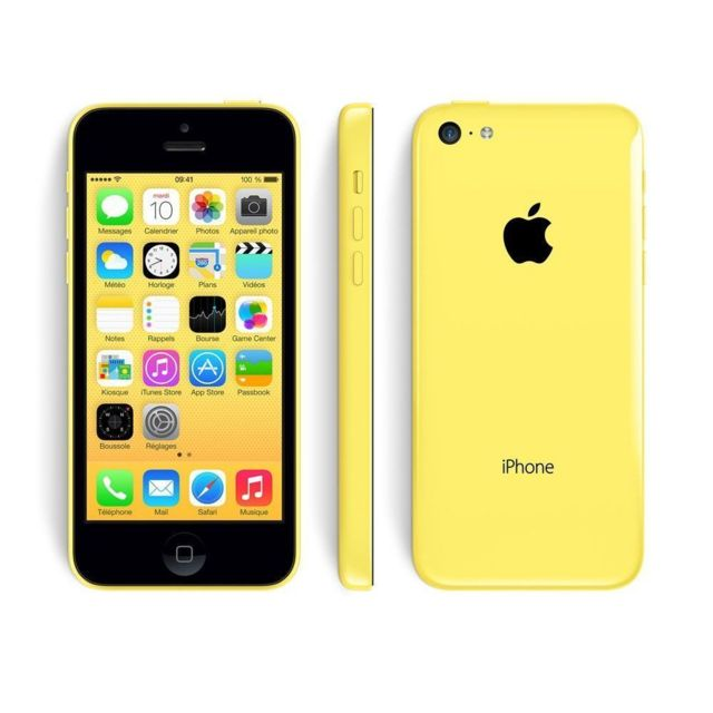 APPLE - iPhone 5C - 32 Go - Jaune - Reconditionné