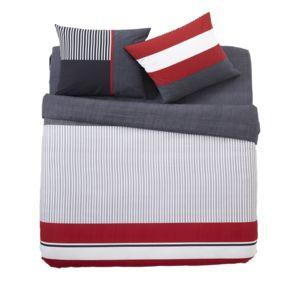 alin a caravelle housse de couette 260x240cm et 2 taies d 39 oreiller pas cher achat vente. Black Bedroom Furniture Sets. Home Design Ideas