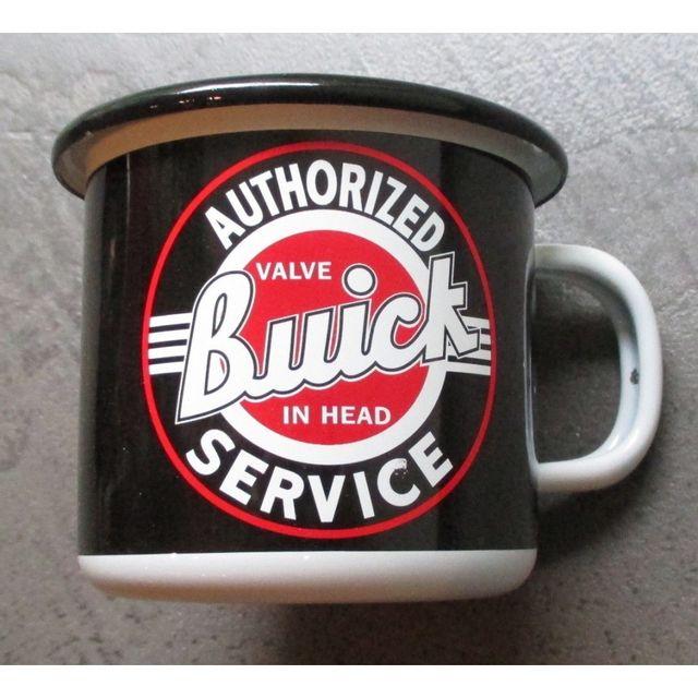 Universel Mug buick authorized service en email tasse à café emaillée