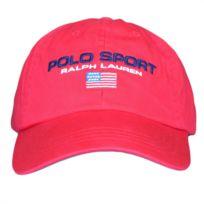 Homme Casquette Lauren Ralph Rouge Polo Pour Sport PXOwkZiTu
