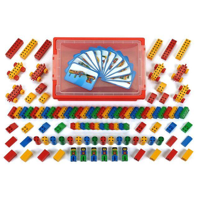 Klein Jeu de construction Manetico : Bac 104 pièces