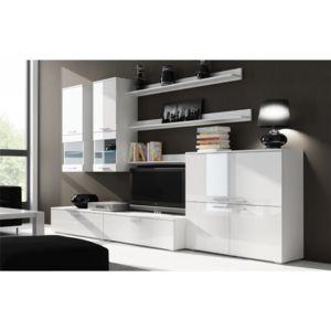 chloe design ensemble meuble tv rimo commode blanc pas cher achat vente meubles tv hi. Black Bedroom Furniture Sets. Home Design Ideas