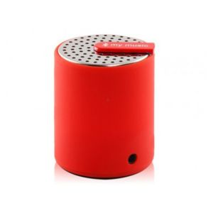 Yonis - Mini enceinte bluetooth universelle smartphone tablette Rouge