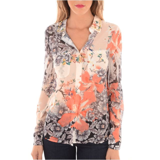 c8d5541d1f08 Guess - Chemises Jeans Femme W63h15w70q0 - pas cher Achat   Vente Chemise  femme - RueDuCommerce