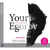 Etcetera - Youri Egorov | Franz Schubert - A life in music Vol. 1 DigiPack