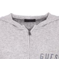 Gilet zippe homme en laine gris chine rivaldi