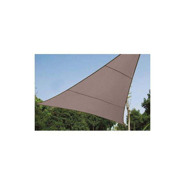 VELLEMAN Voile solaire triangulaire - 3.6 x 3.6 x 3.6m, couleur: Taupe