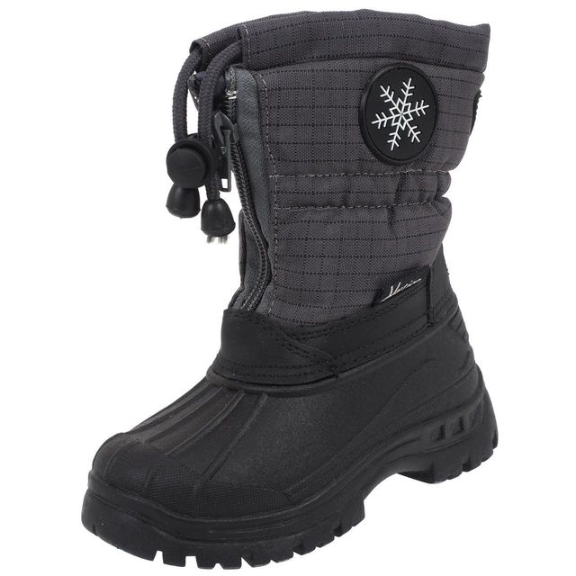 Element terre Snoboo noir boots ski Bottes neige après ski