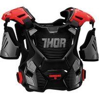 Marque Generique - Pare-pierre Moto Cross Guardian Protector Thor-xl / 2XL- Noir Rouge -2701-0792