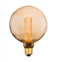 Génération E27 Lumen 200 G125 Nouvelle Ampoule Déco Culot Led 4w 2EHID9W