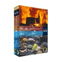 Lichtung - Bundle Aquarium Marin Feu de cheminée Blu-Ray