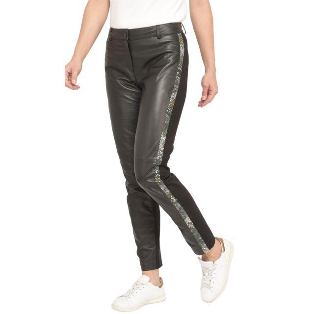 Isaco Pantalon en cuir