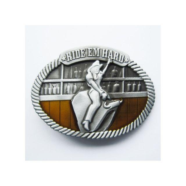 Universel - Boucle de ceinture country rodéo mécanique homme femme ... 64a97a1cc45