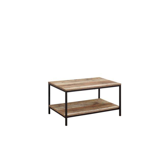 Home Design International Table Basse Style Industriel Brooklyn