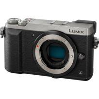 PANASONIC - Lumix DMC-GX80 Silver boîtier nu