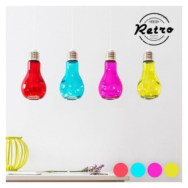 Marque Generique Lampe Colore A Led En Forme D Ampoule Couleur