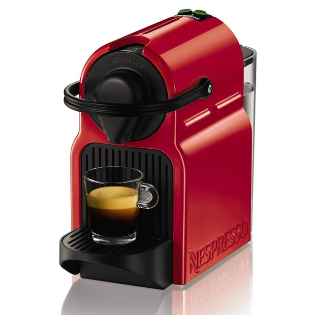 KRUPS Nespresso Inissia XN100510 Rouge