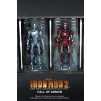 Hot Toys - Figurine - Iron Man 3 set dioramas 1/6 Hall of Armor 34 cm 4