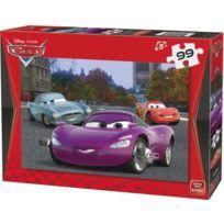 KING - Puzzle 99 Pieces Disney - Finn Mcmissile Et Flash Mcqueen Enfant