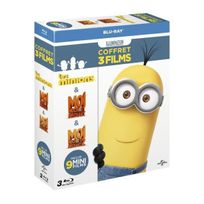 Upv - Coffret Minions 3 films Blu-ray