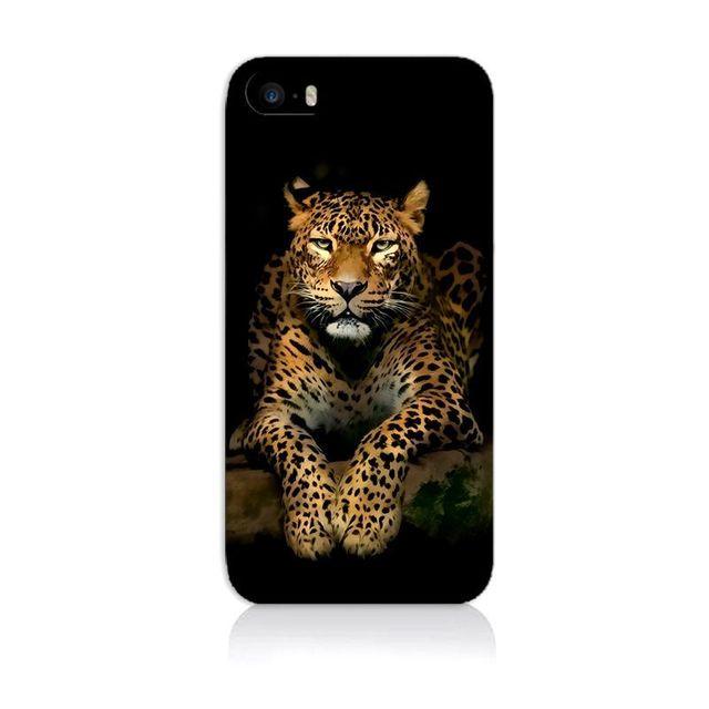 coque iphone 4 animaux 3d