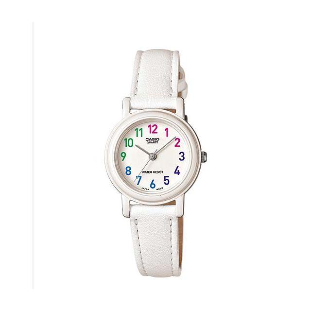 Casio - Lq139L 7B Montre femme ou enfant Casio à aiguilles bracelet cuir,  modèle chiffré 836564e5ea7a