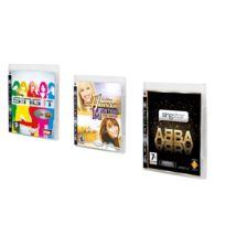 Activision - Pack 3 Jeux 100% Karaoké Abba, Sing It Et Hannah Montana - Ps3