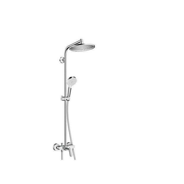 Hansgrohe colonne de douche avec robinet mitigeur - Colonne de douche hansgrohe ...