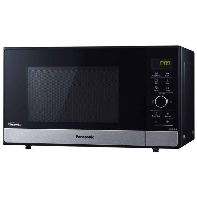 PANASONIC micro-ondes grill 23l 1000w noir - nngd38hssug