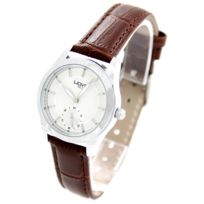 Wave Femme - Montre Femme Cuir Marron Wave 1239