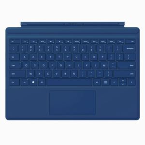 microsoft clavier tablette type cover surface pro 4 blue pas cher achat vente support pour. Black Bedroom Furniture Sets. Home Design Ideas