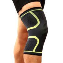 7e92f54711a76 Wewoo - 1 paire de genouillères en tricot sport nylon élastique, respirant  et confortable,