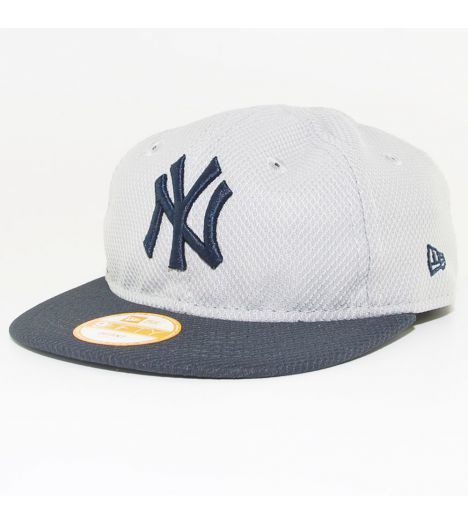 New Era Cap - Casquette Bébé New Era New York Yankees Diamond Infant My 1st  Gris 39db3f20ea8